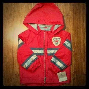 NWT Carter's Volunteer Fire Department rain jacket